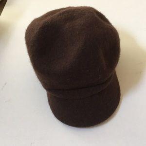 Designer August wool women's hat